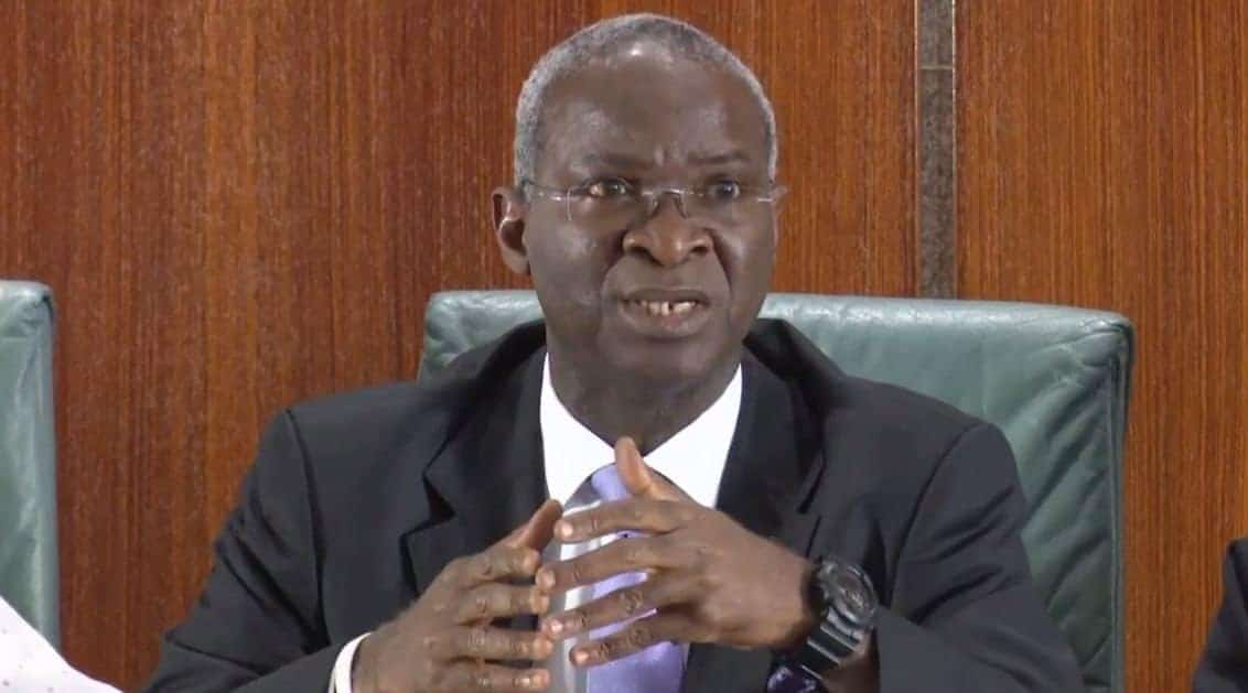 Photo of We owe road contractors N306bn-Fashola