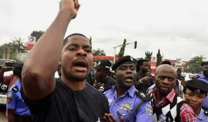 Photo of Deji Adeyanju reveals why he won't run for political office