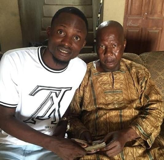 Photo of Babasuwe cries for help as he now finds it difficult to walk (watch)
