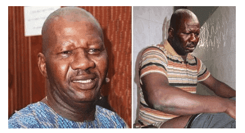 Photo of Baba Suwe reportedly receiving treatment at LUTH