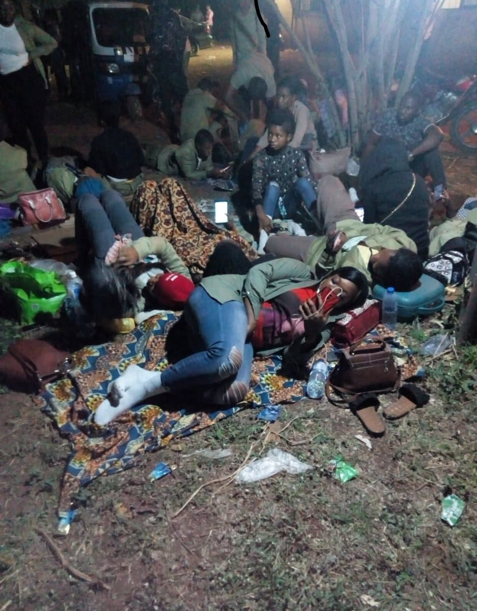 Photo of Corpers stranded, abandoned following 2019 presidential election postponement (PHOTOS)