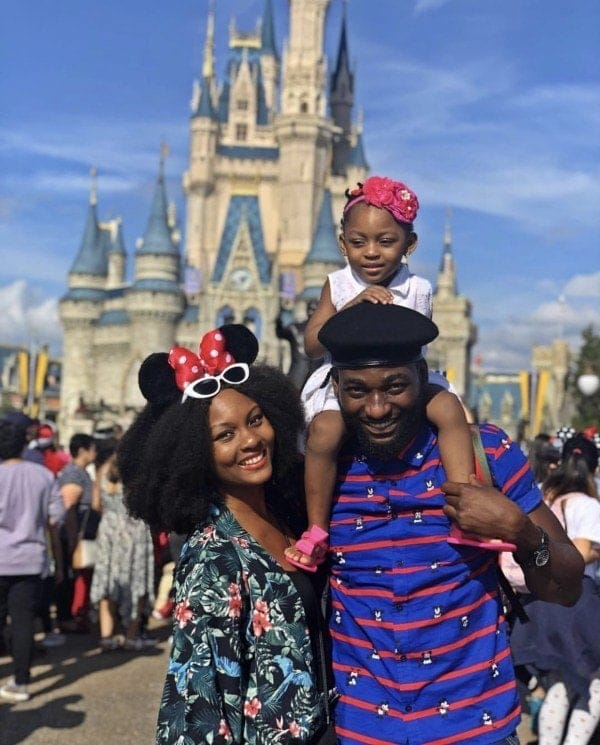 Photo of Gbenro Ajibade calls out wife, Osas for bad parenting