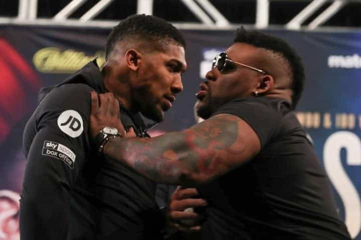 Photo of Jarell Miller's trash talk about me is cheap talk – Anthony Joshua