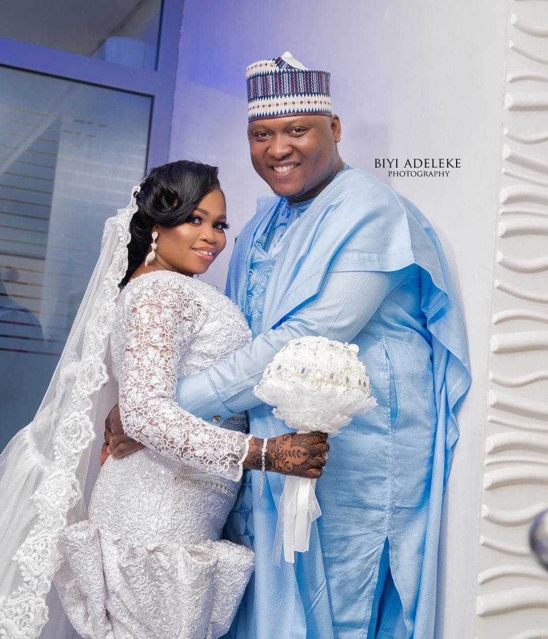Nigerian Wedding Menu: Nollywood Actress, Tawa Ajisefini Weds On Valentine's Day