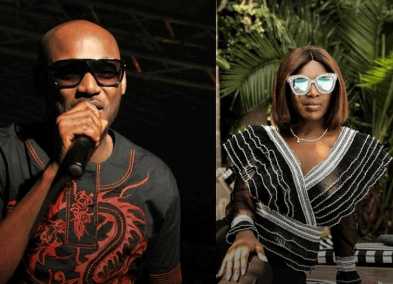 Photo of 2face is grateful to Annie for keeping his head straight after 6 years!