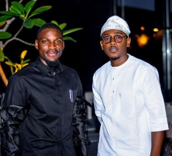 After the BBNaija reunion brouhaha, Tobi and Cee-C spotted at a dinner party