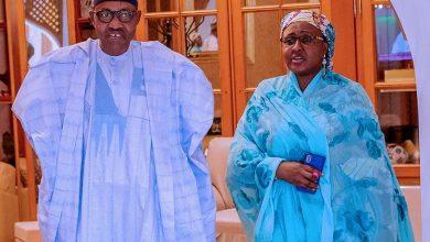 President Buhari and wife, Aisha departs Daura for Abuja