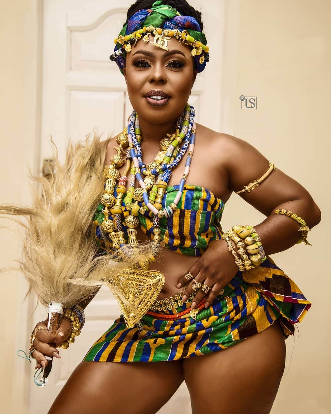 Photo of How female celebrities celebrated Ghana's 62nd Independence day (Photos)