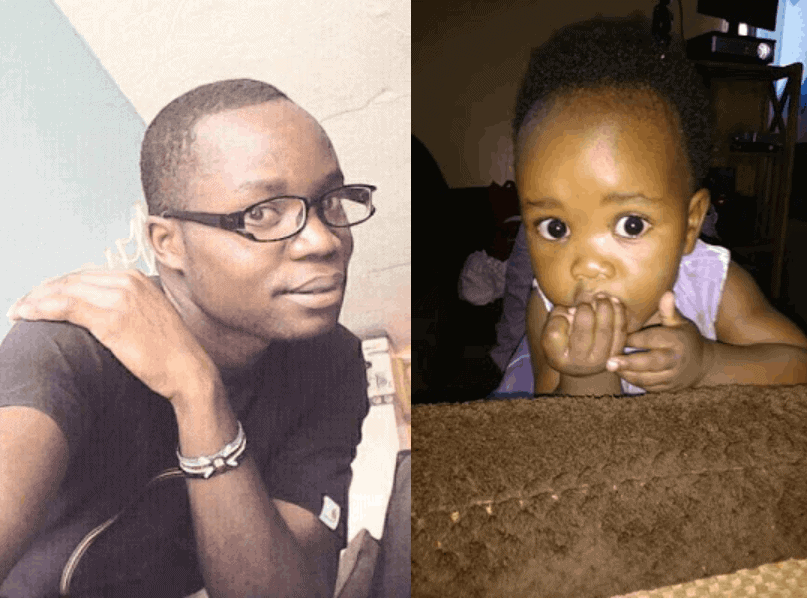 Photo of Man cries out as late wife's family snatch his daughter from him at gunpoint