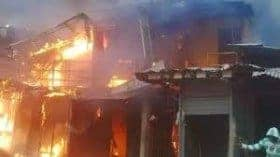 Agony! In Warri, 4 Siblings of the same mother burnt to death