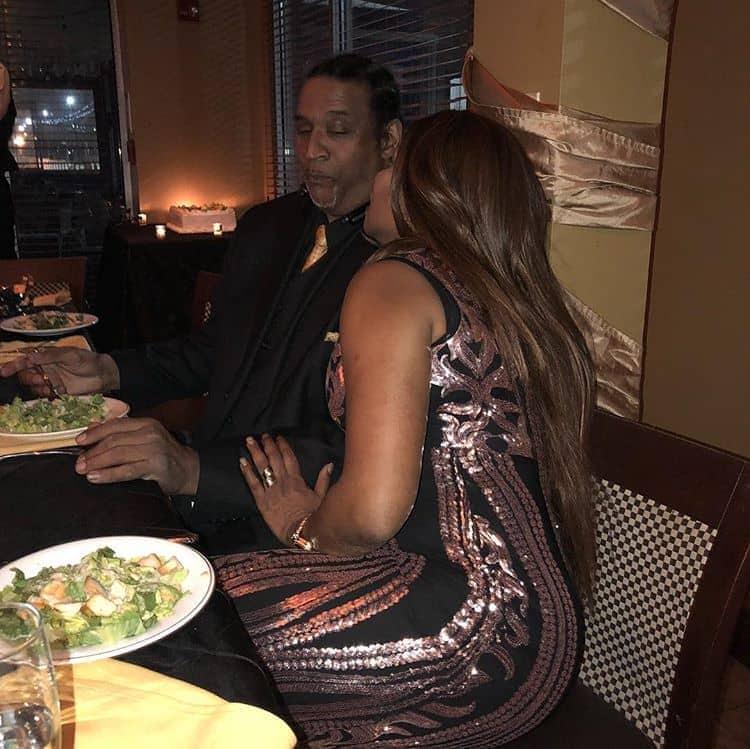 Photo of Regina Askia shows hubby love at his birthday party (Photos)