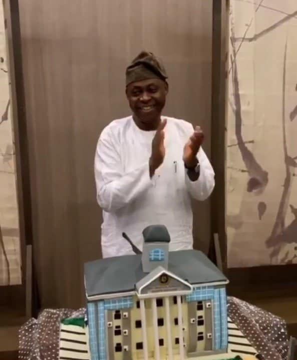 Photo of How Davido's father celebrated his birthday in a low-key way (Photos)