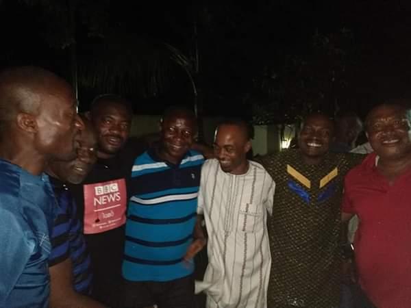 Emeka Ihedioha celebrates victory with supporters (Photos)