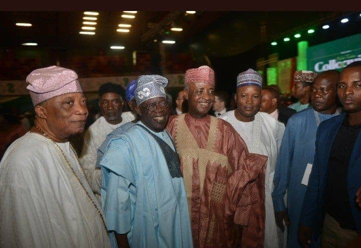 Photo of Buhari absent at Tinubu's 67th birthday colloquim (Photos)