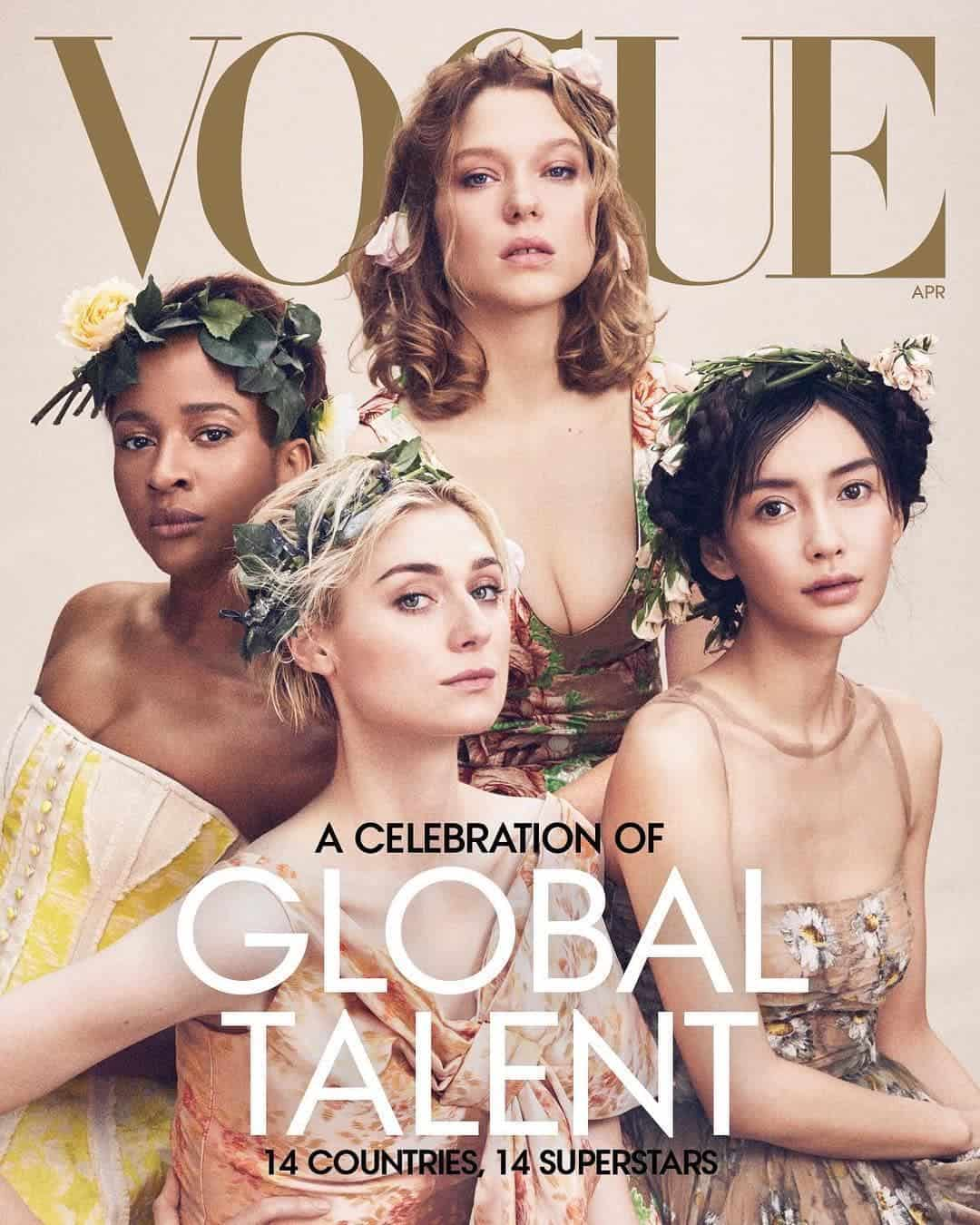 Photo of Adesua Etomi's Vogue Cover Image rubbished by Nigerian writer