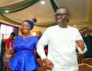 Photo of Babajide Sanwo-Olu and wife visit MFM church after election victory (Photos & Video)