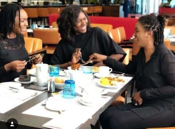 Omoni Oboli gives reasons why Uche Jombo is missing from the famous Nollywood quartet