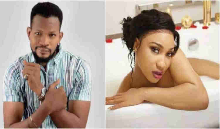 Photo of You are not a wife material – Uche Maduagwu slams Tonto Dikeh