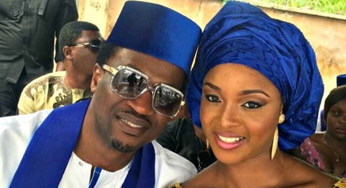 Photo of Paul Okoye and wife Anita celebrate 5th wedding anniversary