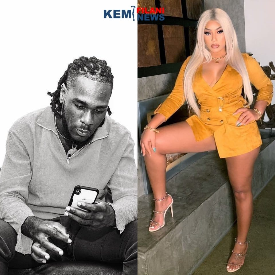 Awwn! See this video of Burna Boy and Stefflon Don kissing