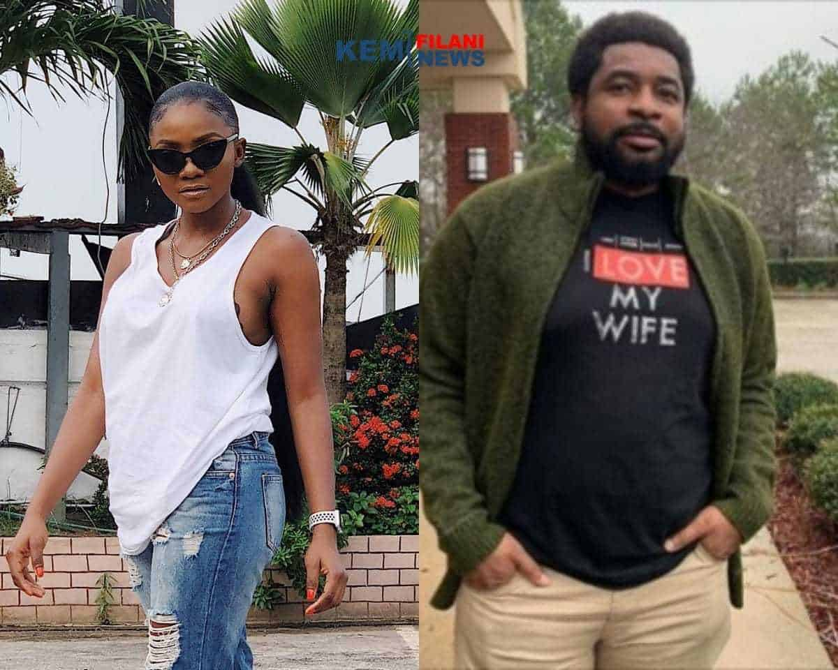Photo of Drama between Simi and Pastor Kingsley over sex debate