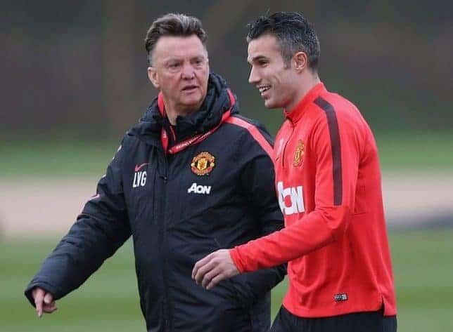 Photo of Van Gaal reveals why he made Rooney captain over Van Persie at Man Utd