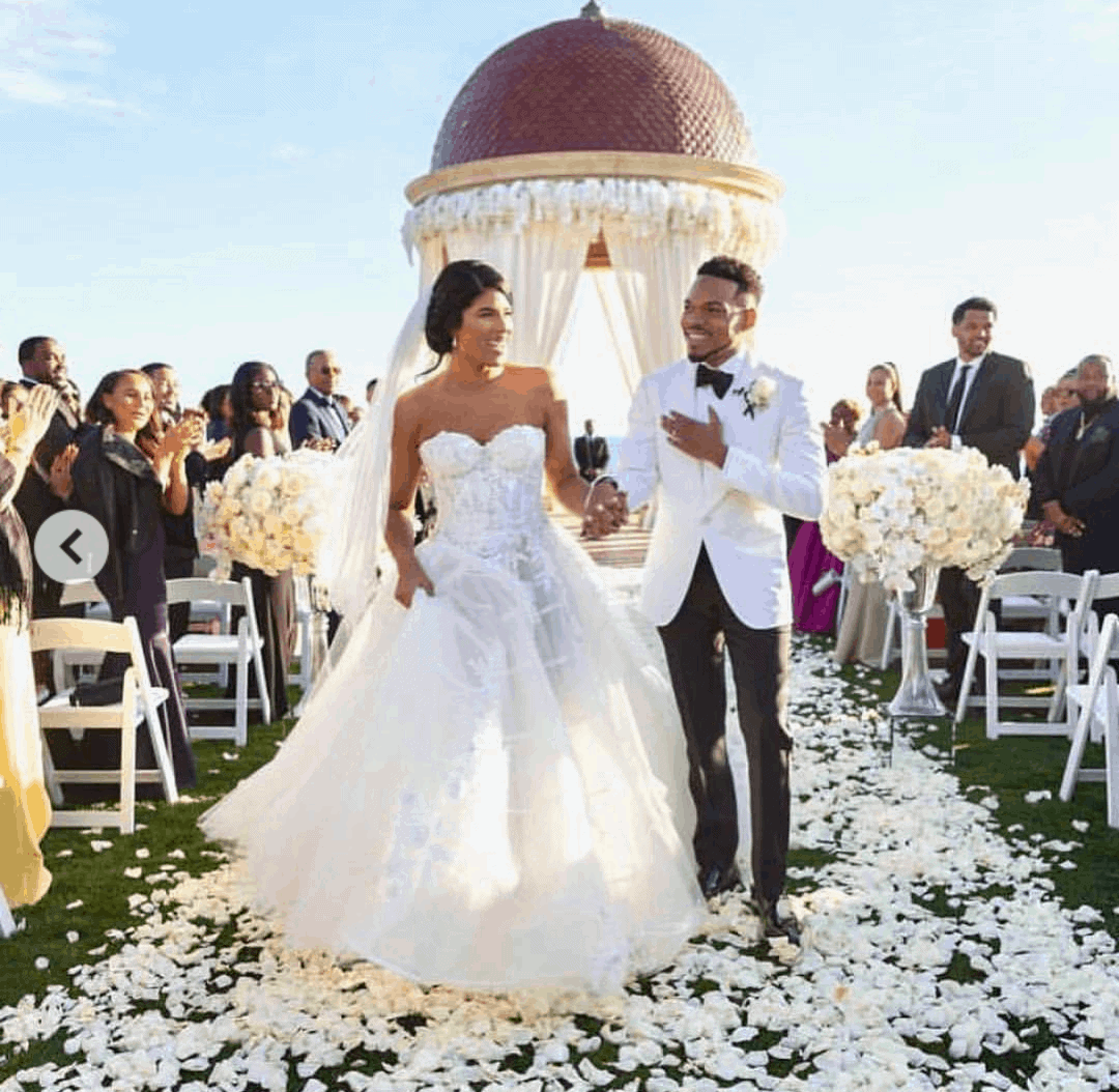 Photo of Wedding and loved up photos of Chance The Rapper and kirsten Corley