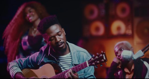 Photo of Watch as Johnny Drille glitters in 'Shine' video