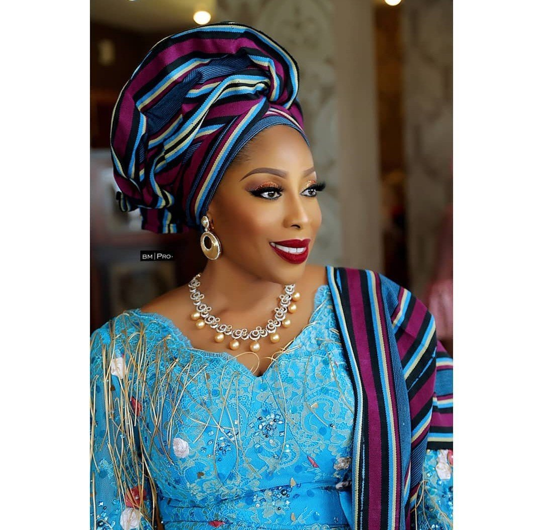 Photo of Mo Abudu stuns in lovely attire to her daughter's traditional engagement (Photos)