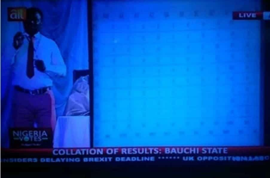 Photo of INEC results' interpreter reportedly stabbed by unknown persons