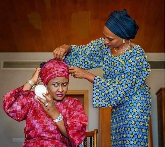 Photo of Seven times Aisha Buhari and Dolapo Osinbajo inspired us with their bond (photos)