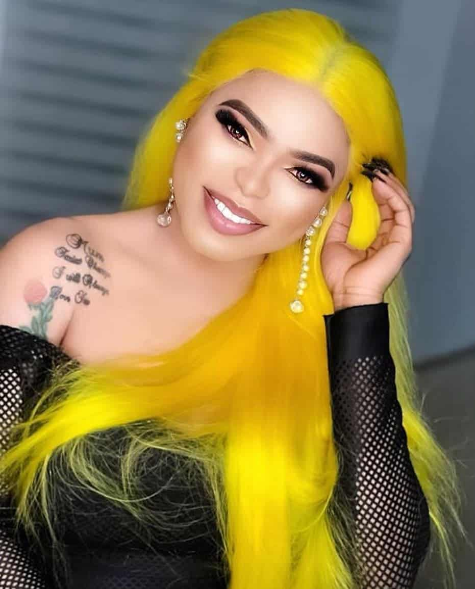 Photo of Bobrisky now regrets bleaching his skin