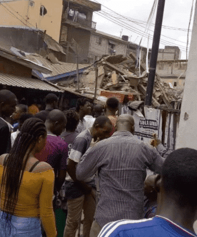 Photo of Another building collapses in Lagos (photos)