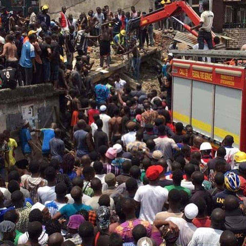 Photo of Lagos school building collapse: Update on condition of injured pupils