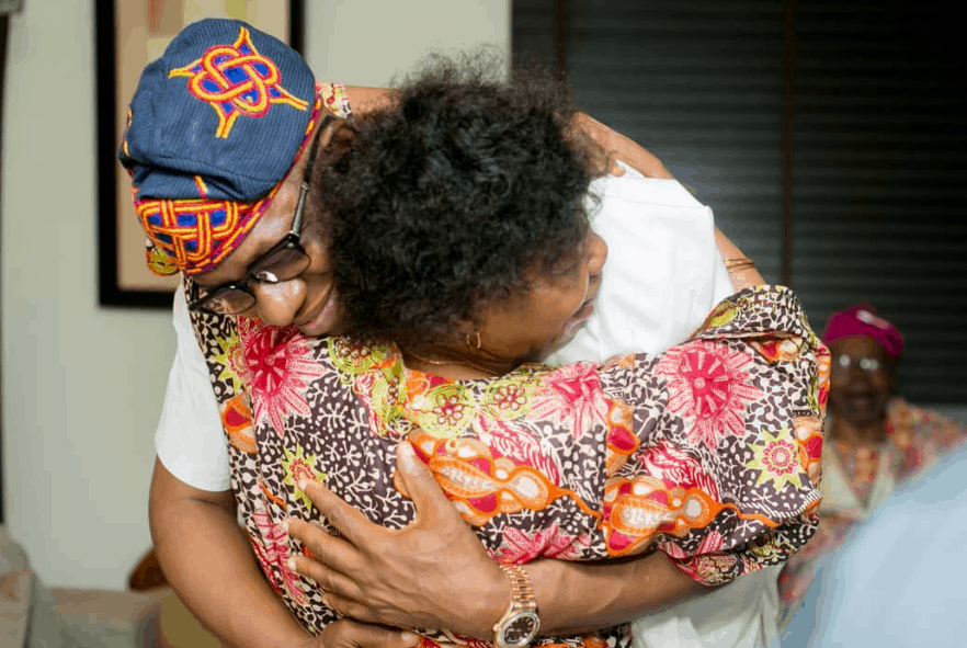 Photo of How parents of Ogun state's elect governor, Dapo Abiodun, reacted to his victory (photos)
