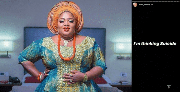 Photo of Actress, Eniola Badmus having suicidal thoughts after resurrecting from death
