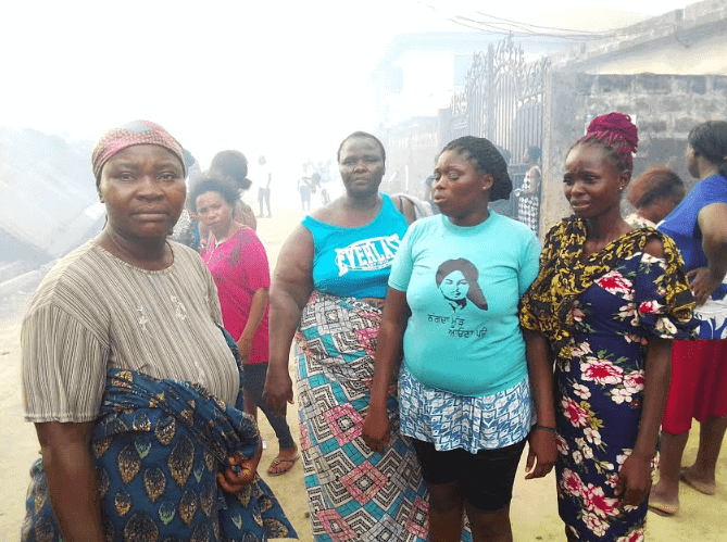 Photo of Delta: 20 families in trouble over gas cylinder explosion  (photos)
