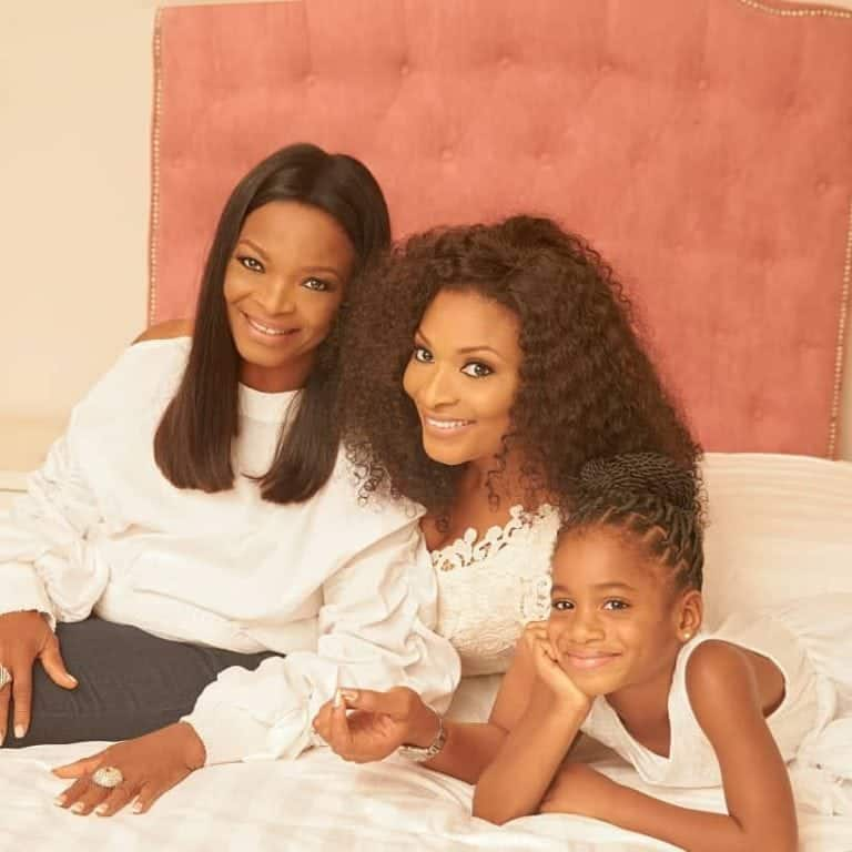 Photo of Ibidunni Ituah-Ighodalo holds three generation shoot with her mother & daughter (photos)