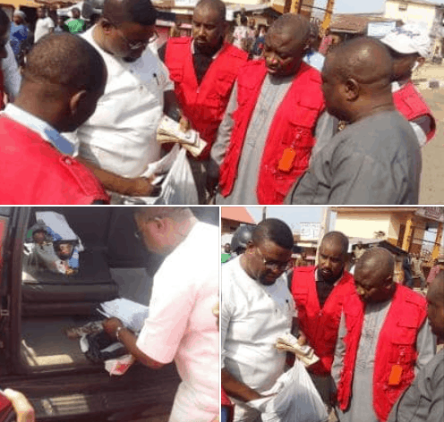 Photo of BREAKING: EFCC arrests contestant with cash to buy votes (photos)