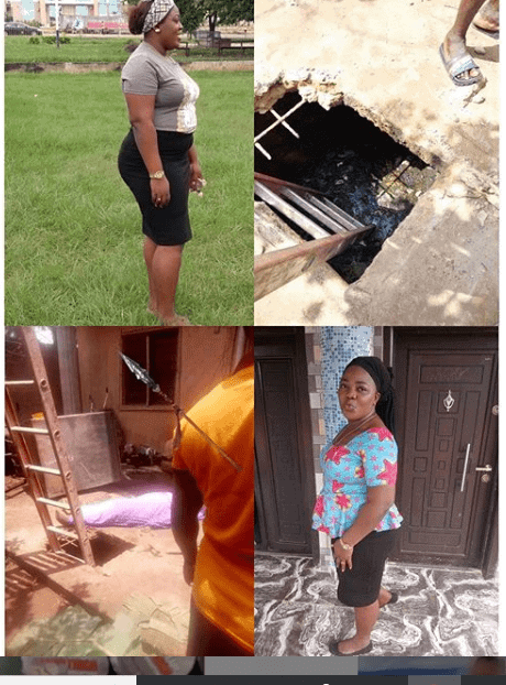 Photo of Newly married lady dies in soakaway pit