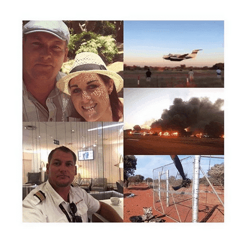 Photo of Man intentionally crashes plane into a party just to kill his wife
