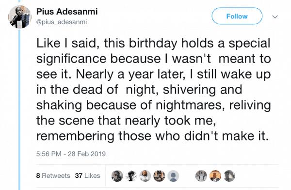 Ethiopian Airlines crash: See Pius Adesanmi's scary tweet 12 days before his death