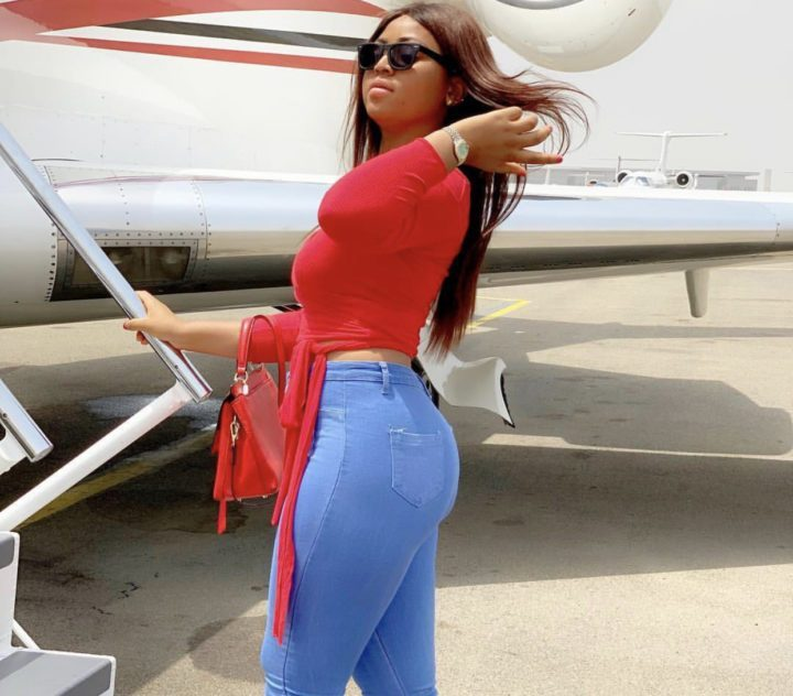 Photo of Regina Daniels now on a private Jet level after buying luxurious cars and mansion (photos)