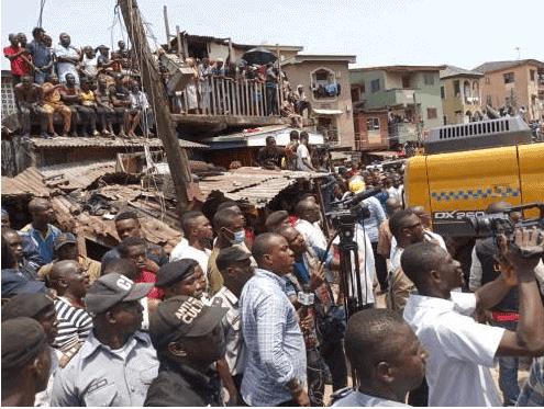 Photo of Former teacher of school in Lagos collapsed building speaks