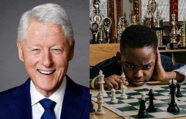 Photo of 8-year-old Nigerian Chess Champion gets surprising invite from Bill Clinton