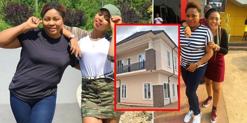 Photo of Fans react suspiciously as Regina Daniels buys new house for her mother