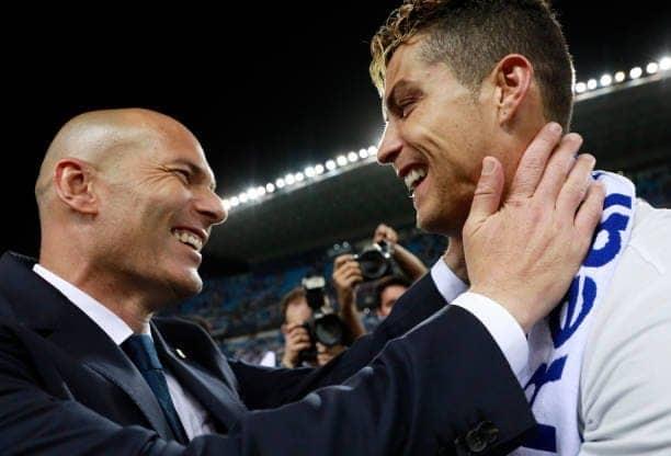 Zidane speaks on Ronaldo returning to Real Madrid