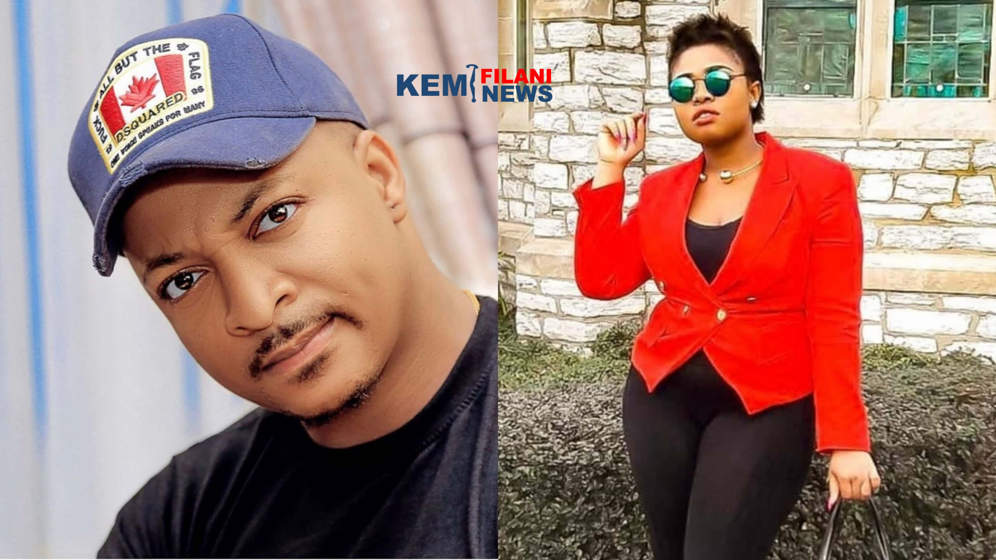 'IK Ogbonna is gay. He is sleeping with upcoming Nollywood actors'- YouTuber Bold Pink