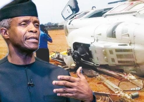 Photo of Helicopter crash: Osinbajo reveals what would have happened to Kogi State Government if he had died