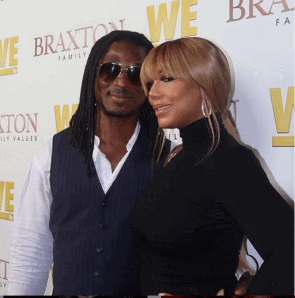 Photo of Tamar Braxton and her Nigerian boyfriend make first red carpet together (Photos)